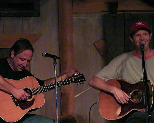 Robbie Jersoe and Robbie Fulks, Andrew D. Barron©7/25/07