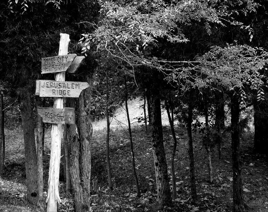 Jerusalem Ridge, Rosine, KY, Andrew D. Barron © 9/10/07