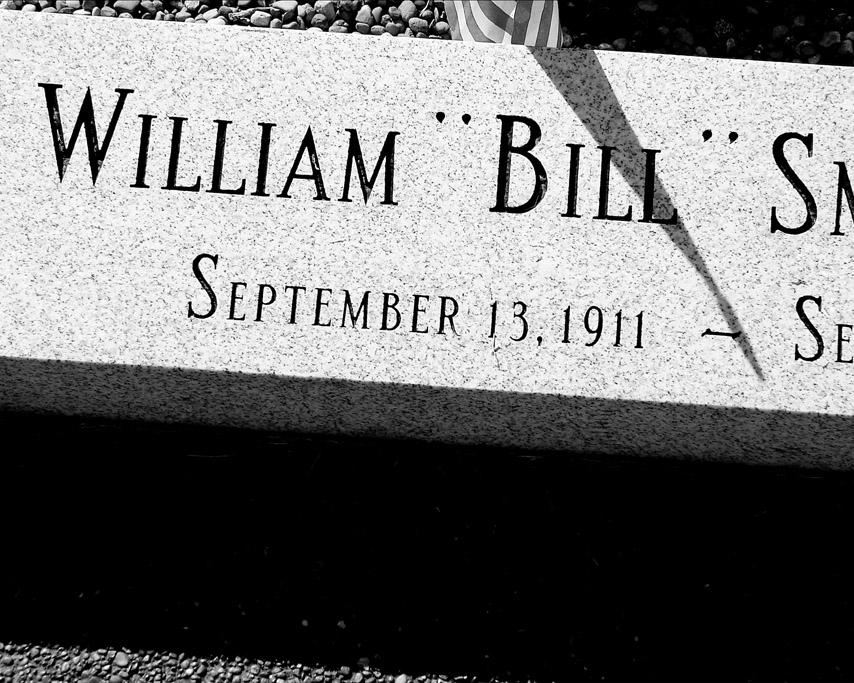 Bill Monroe's grave, Rosine , KY, Andrew D. Barron © 9/13/07