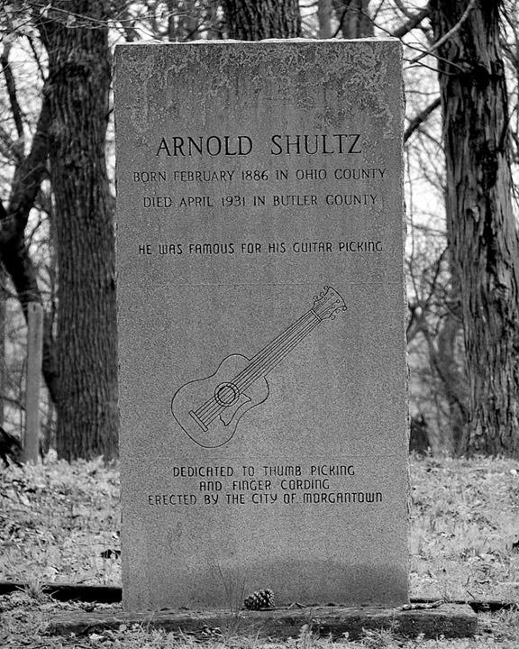 Arnold Shultz, Morgantown, Kentucky, Andrew D. Barron©4/08/08