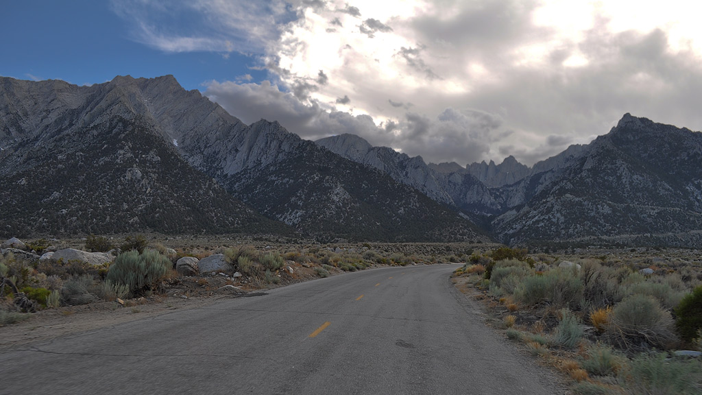 On the road to Mount Whitney, Andrew D. Barron©7/23/10