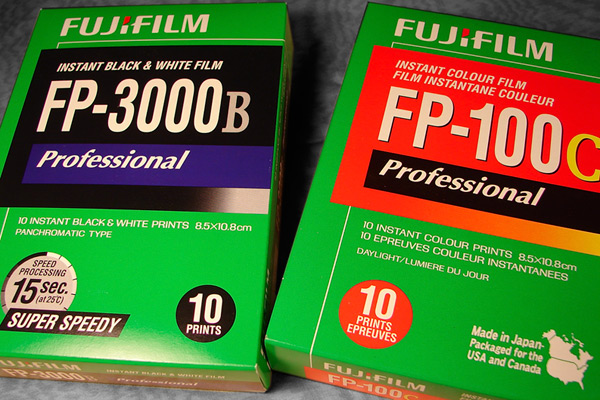 New packs of Fuji film, Andrew D. Barron ©1/7/11