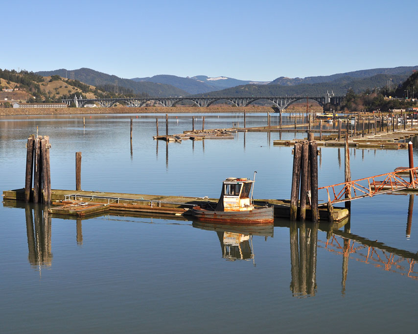 Port of Gold Beach, Curry County, OR, Andrew D. Barron ©1/03/11