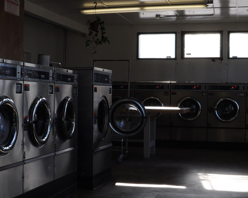Port Orford laundromat, Curry County, OR, Andrew D. Barron ©1/09/11