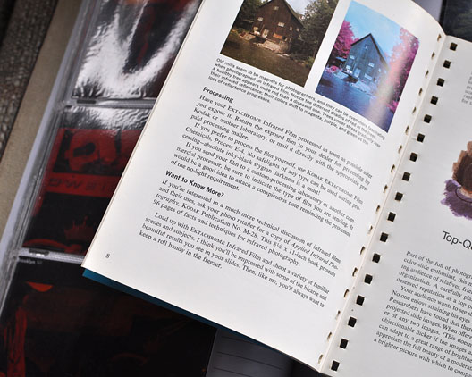 Kodak's 7th Here's How book from 1971 featuring article on infrared Ektachrome, Andrew D. Barron ©1/23/11
