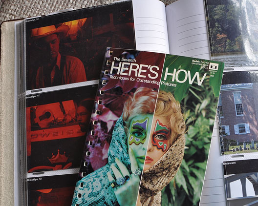 Kodak's 7th Here's How book featuring article on infrared Ektacrhome, Andrew D. Barron ©1/23/11