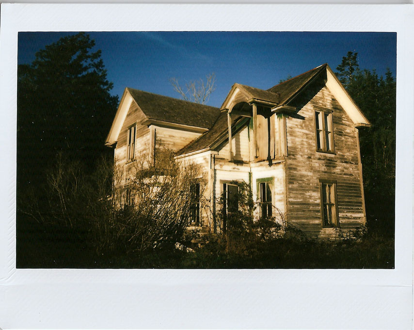 The Old, Old House, Euchre Creek Road, Andrew D. Barron ©1/19/11
