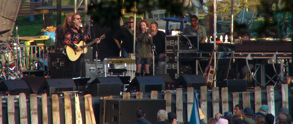 Robert Plant, Darrell Scott, Patty Griffin at Hardly Strictly Bluegrass festival, Andrew D. Barron©9/30/11