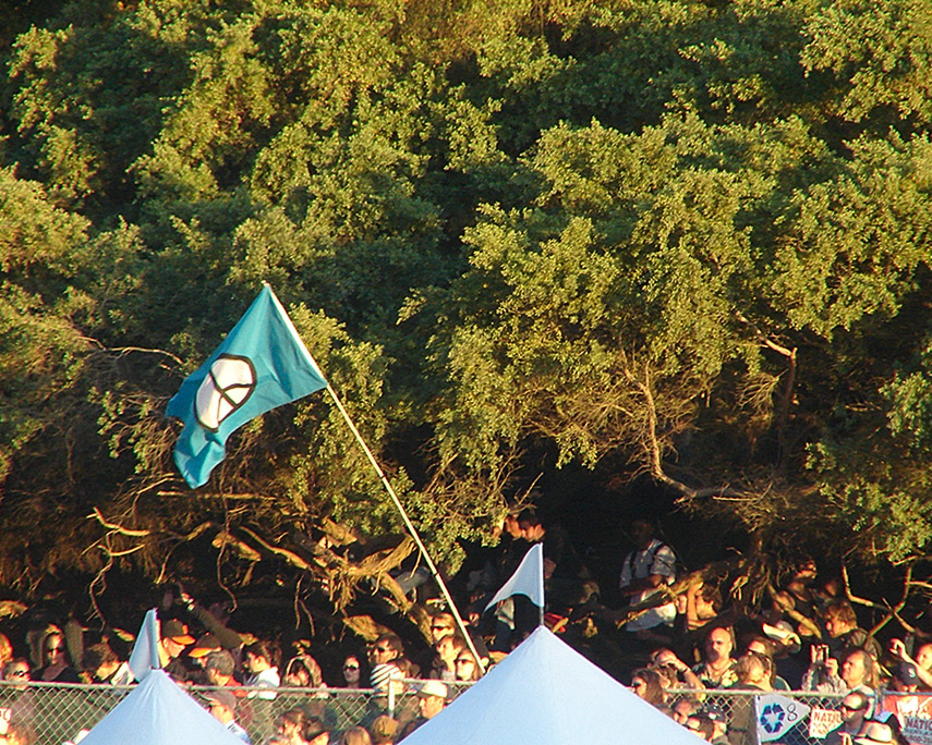 Peace at Hardly Strictly Bluegrass festival, Andrew D. Barron©9/30/11