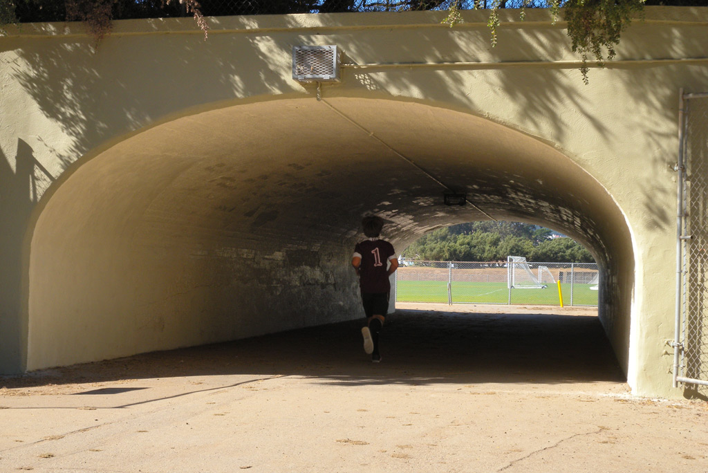 Tunnel, Golden Gate park, Andrew D. Barron©9/30/11