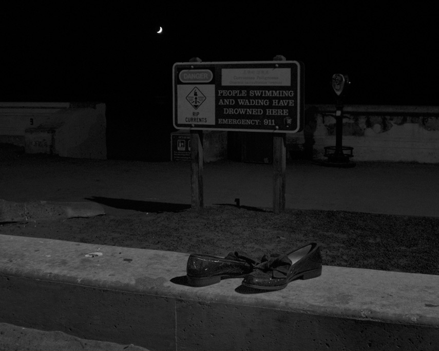 Shoes at Ocean Beach, Andrew D. Barron©9/30/11