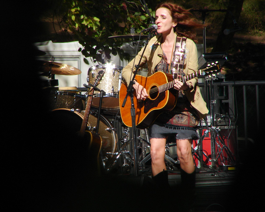 Patty Griffin performs at Hardly Strictly Bluegrass festival, Golden Gate park, Andrew D. Barron©10/1/11