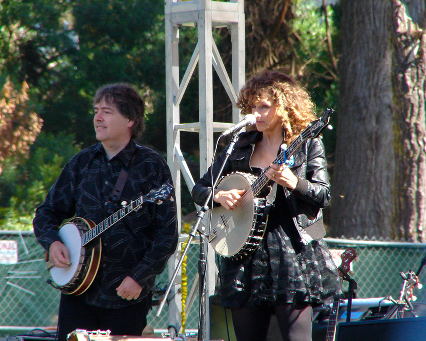 Bela Fleck and Abigail Washburn, Andrew D. Barron©10/2/11