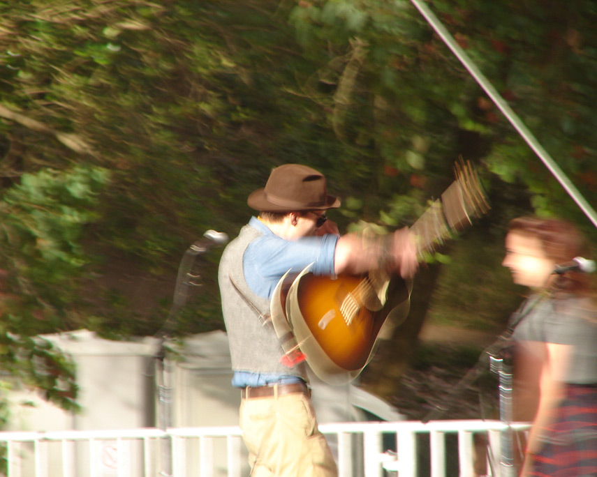Justin Townes Earle and Bryn Davies, Andrew D. Barron©10/2/11