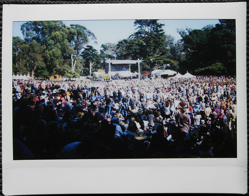 Hardly Strictly Bluegrass crowd, San Francisco, CA, Andrew D. Barron©10/1/11