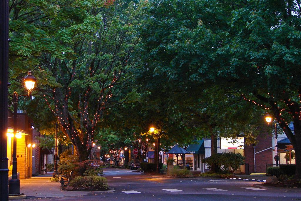 Downtown Camas, Washington, Andrew D. Barron©10/9/11