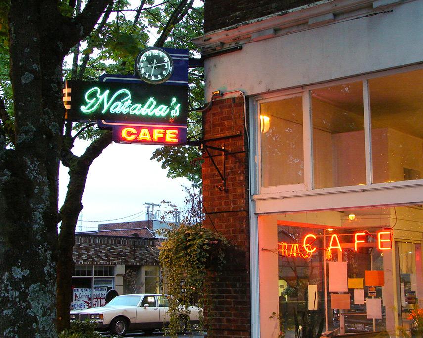 Natalia's Cafe, Downtown Camas, Washington, Andrew D. Barron©10/9/11