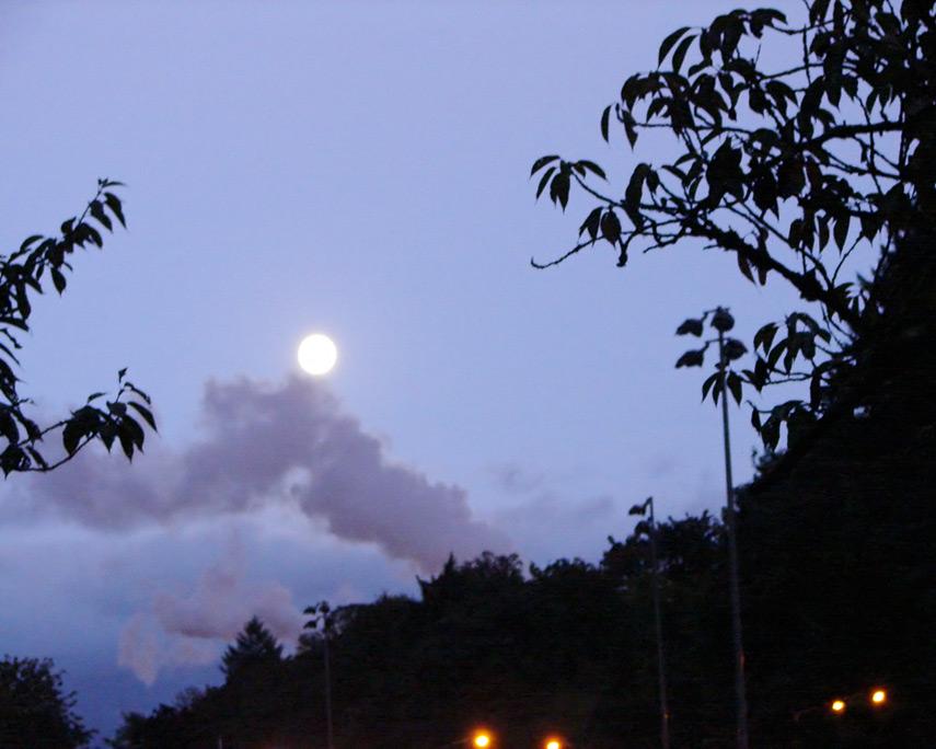 Camas moonrise, Andrew D. Barron©10/10/11