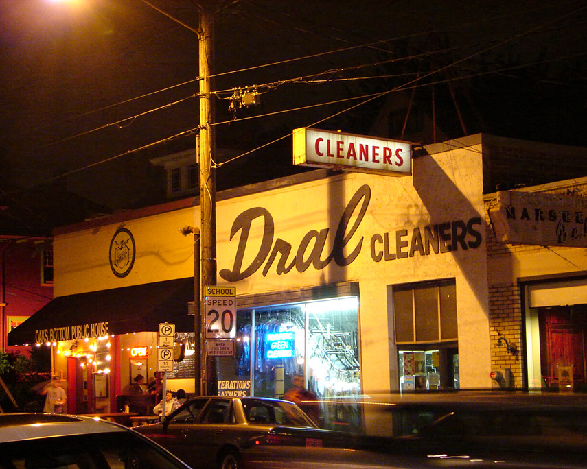 Dral Cleaners, Portland, OR, Andrew D. Barron©10/21/11