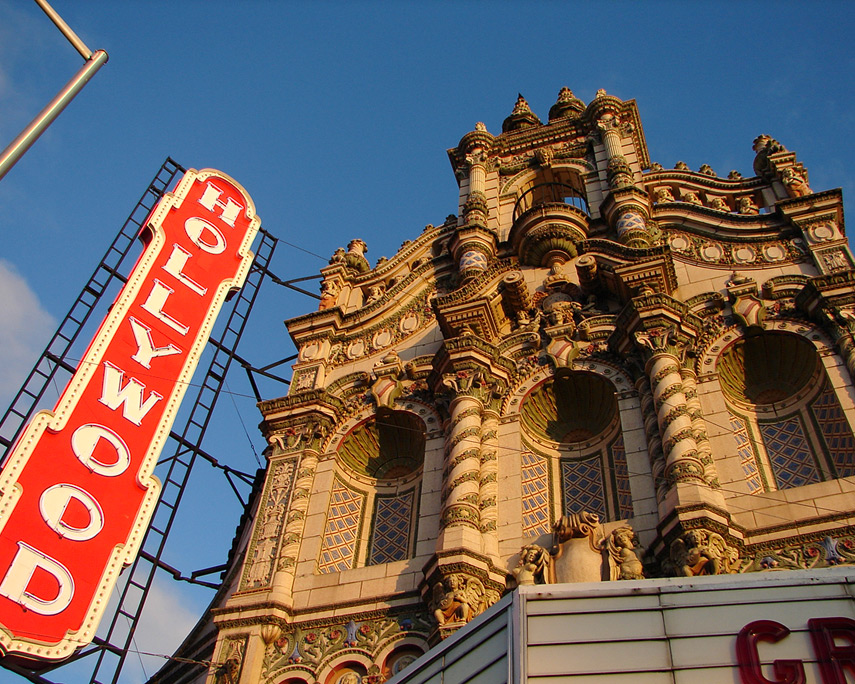 Hollywood theater, Andrew D. Barron©10/30/11