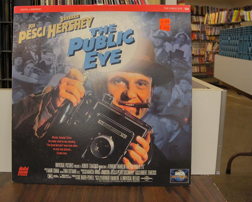 Joe Pesci and a Crown Graphic press camera, Andrew D. Barron©10/10/11