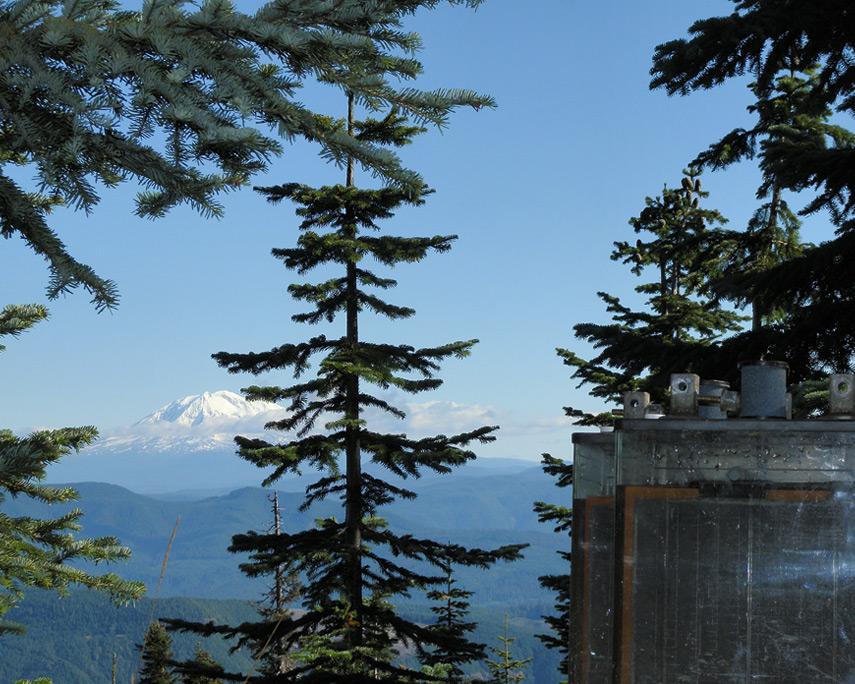 Mount Adams and batteries, Andrew D. Barron©10/25/11