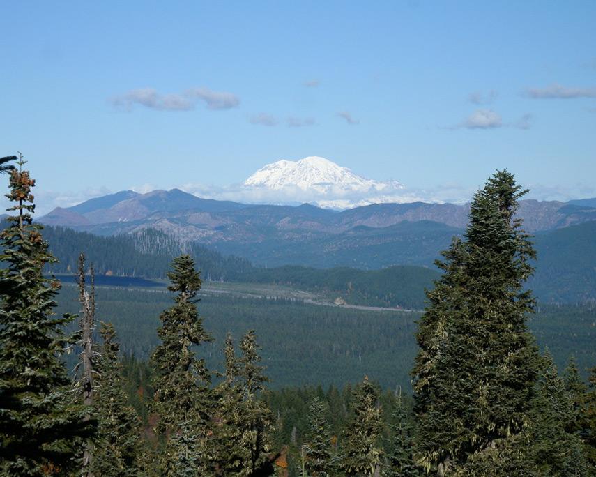 Mount Rainier from Marble Mountain, Andrew D. Barron©10/25/11