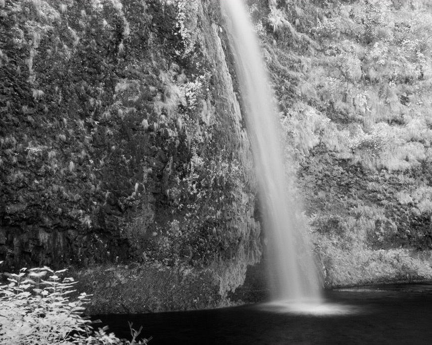 Horse tail falls, Andrew D. Barron©10/16/11