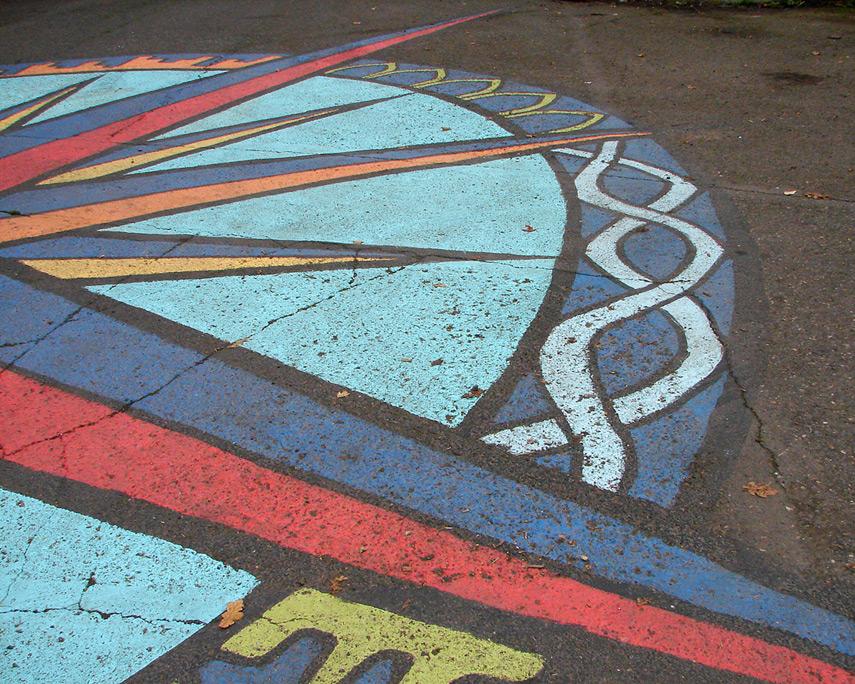 Street mural, Andrew D. Barron©11/11/11