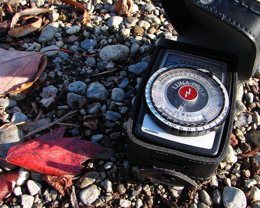 Gossen Luna Pro F light meter, Andrew D. Barron©11/15/11