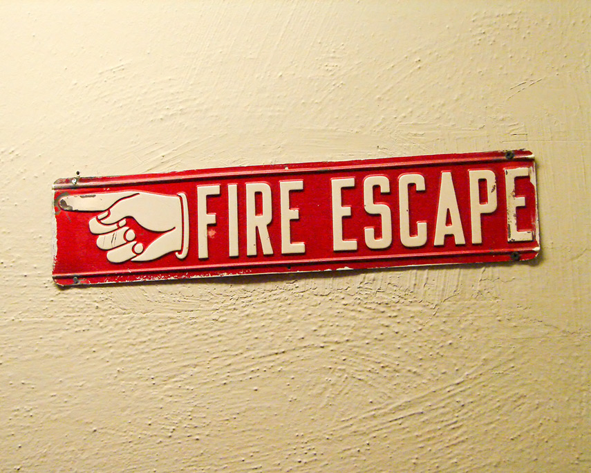 Fire escape, Andrew D. Barron©11/20/11