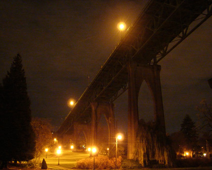 St. Johns Bridge, Portland, OR, Andrew D. Barron©11/28/11