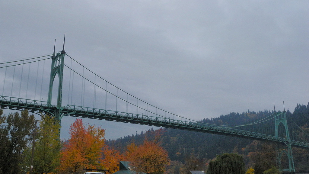 St. Johns Bridge, Portland, Andrew D. Barron©11/11/11