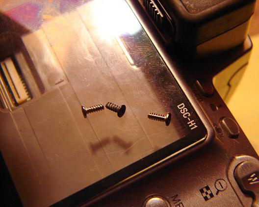 Extra screws, Andrew D. Barron©2/20/11