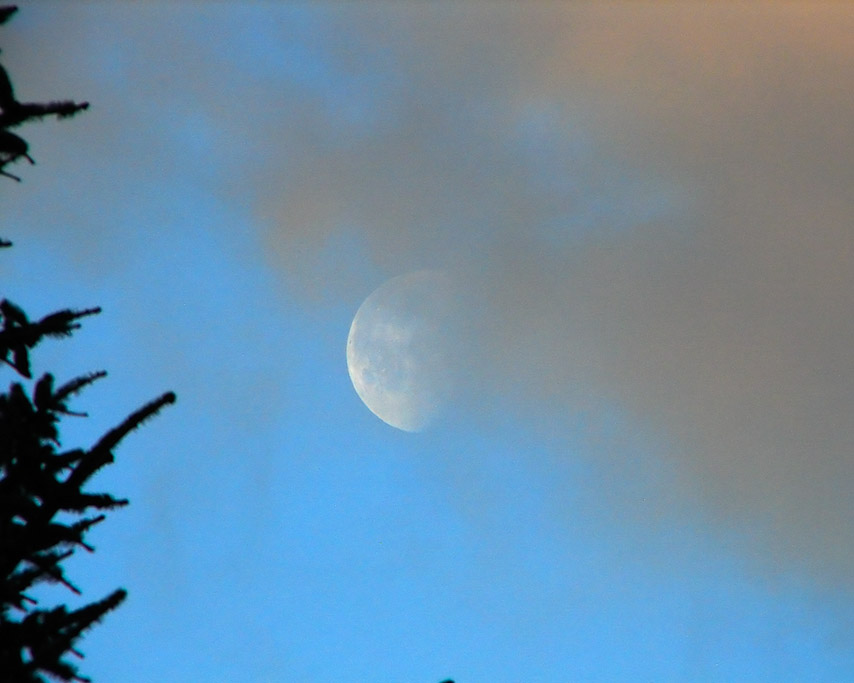 Moon, Andrew D. Barron ©2/22/11