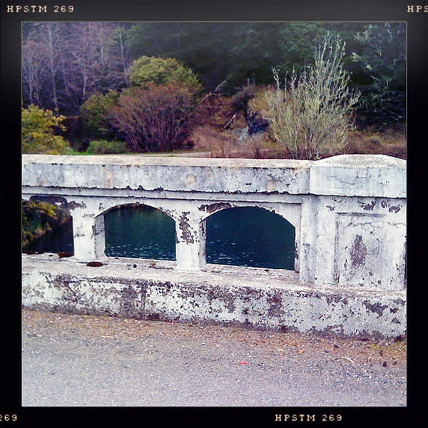 Hunter Creek bridge, Curry County, OR, Andrew D. Barron ©2/06/11