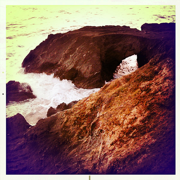 Otter Point, Curry County, OR, Andrew D. Barron ©2/10/11