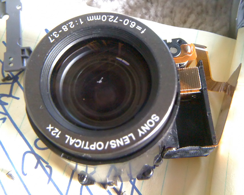 The lens is done for, Andrew D. Barron©2/20/11