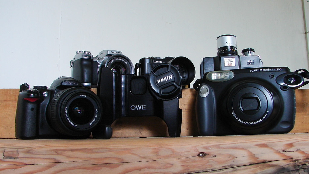 Camera family, Andrew D. Barron ©3/8/11
