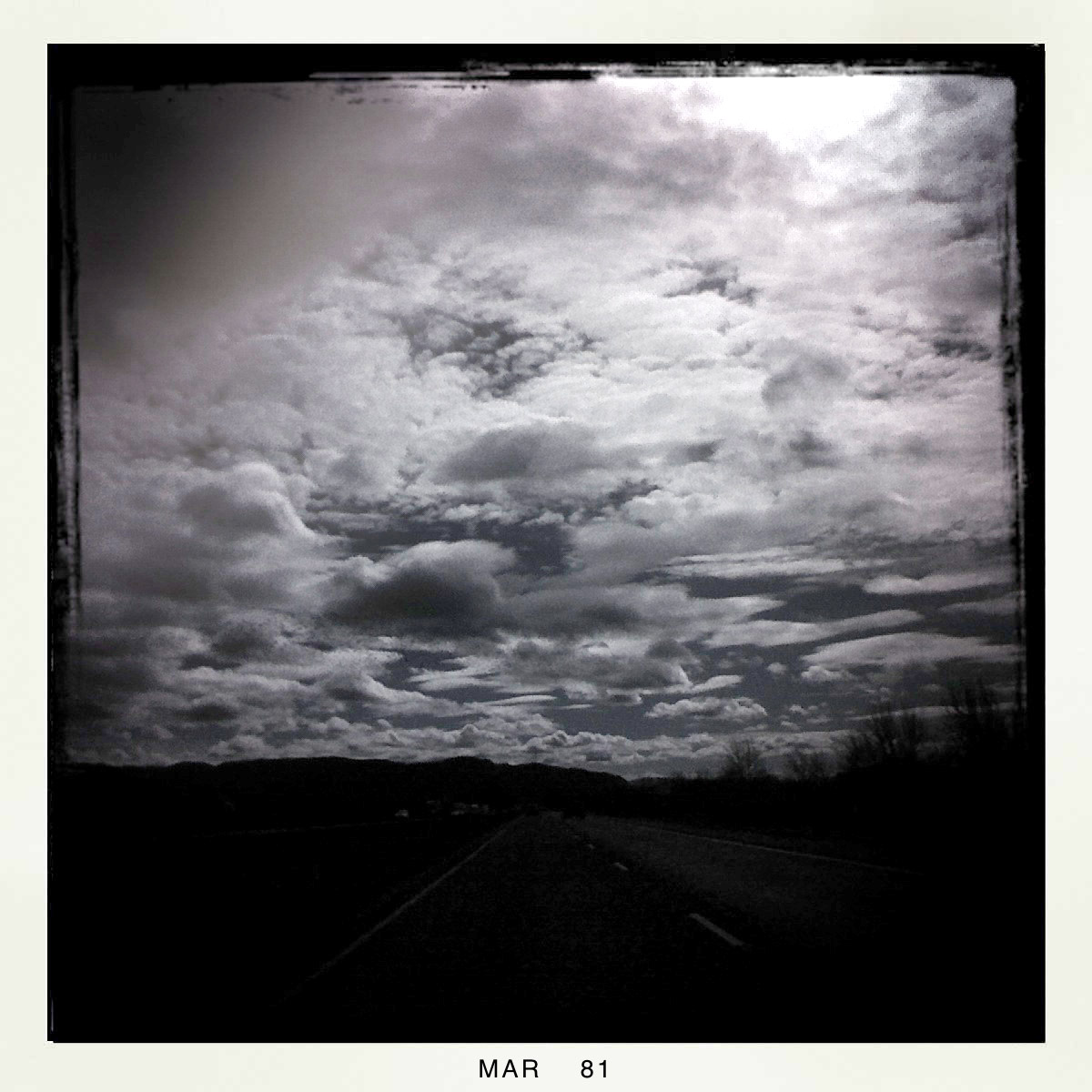 I5 south, Andrew D. Barron ©3/1/11