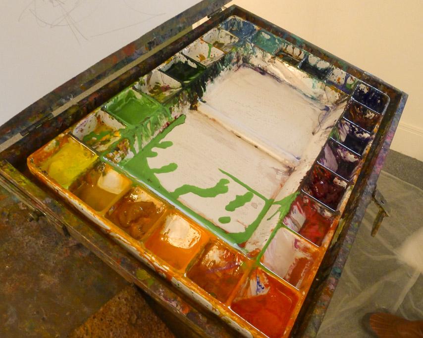 Alexandra's paint, Andrew D. Barron ©3/3/11