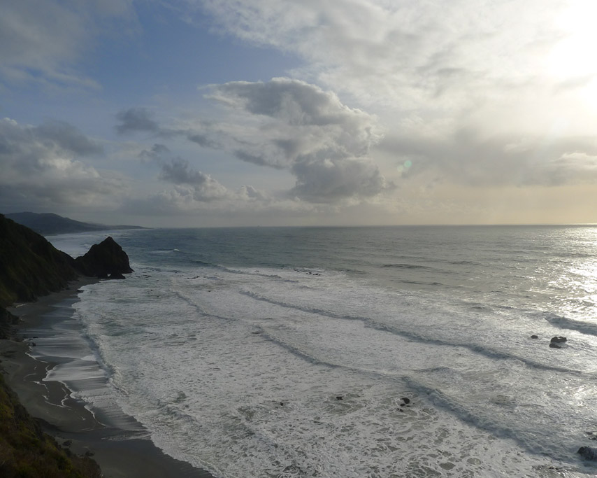 South towards Nesika above Devil's Backbone, Andrew D. Barron ©3/10/11