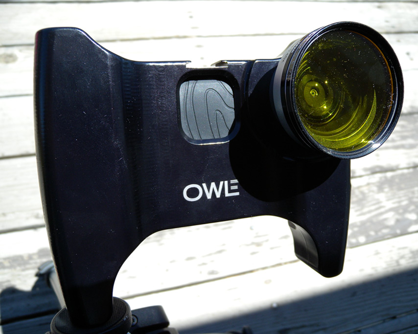 Owle Bubo with 52mm filter, Andrew D. Barron©6/7/11