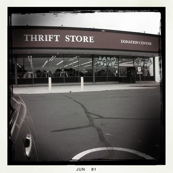 Reno thrift store, Andrew D. Barron©6/4/11