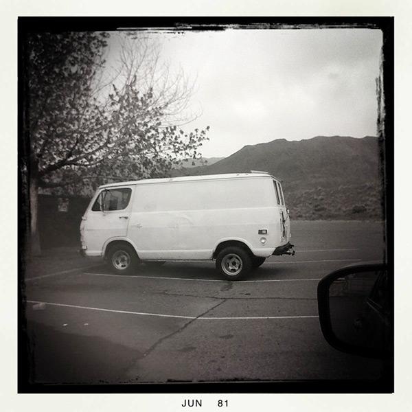Van, Hallelujah Junction California, Andrew D. Barron©6/5/11