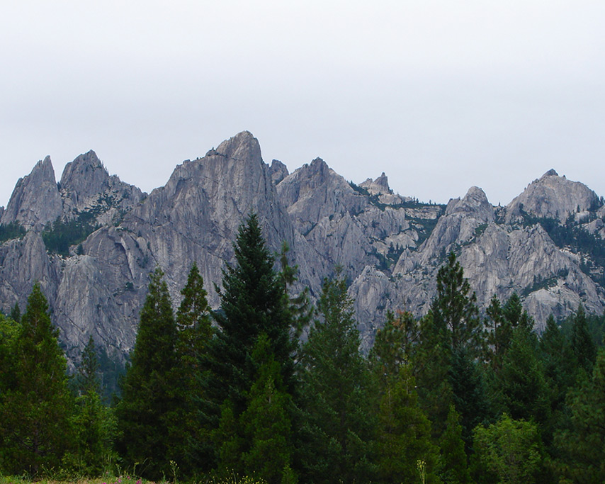Castle Crags, Andrew D. Barron©7/18/11