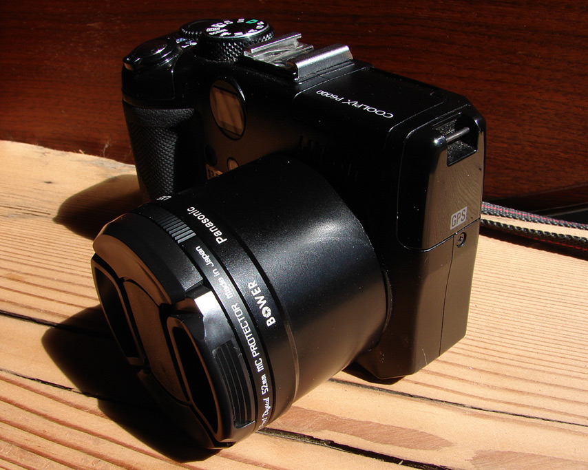 Nikon P6000 fitted with adapter tube for 52mm filters, Andrew D. Barron©7/23/11