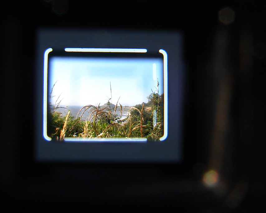 Through the Kodak Ektra 2 viewfinder, Andrew D. Barron©7/23/11