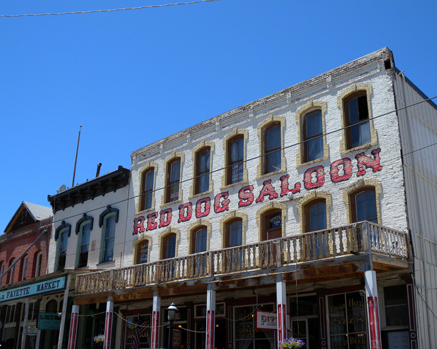Red Dog Saloon, Virginia City, NV, Andrew D. Barron©7/10/11