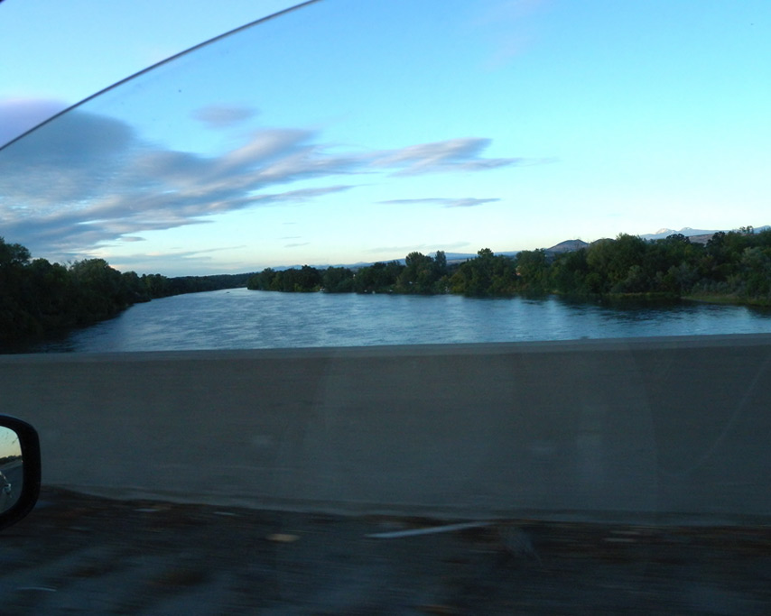 Crossing the Sacramento, Andrew D. Barron©7/17/11